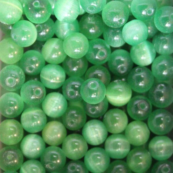 Perles oeil de chat 6 mm