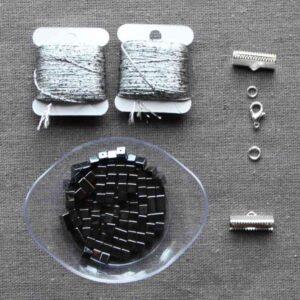 "Kit collier ""cristal"""