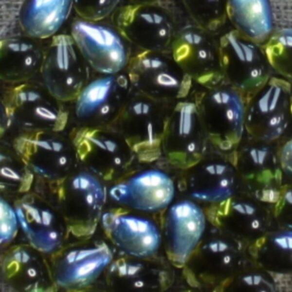 Perles de verre Goutte