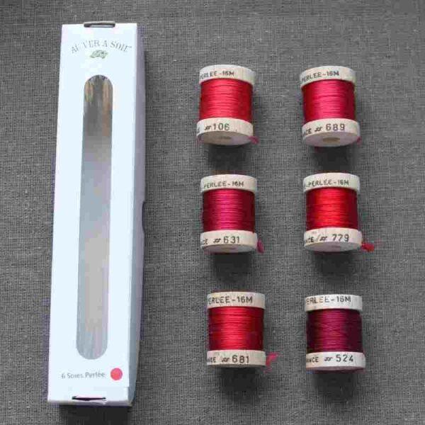 Pack 6 nuances de soie perlée au Ver à Soie ®