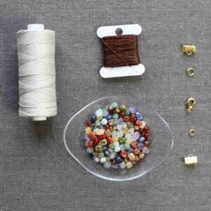 Kit collier Belle l'été