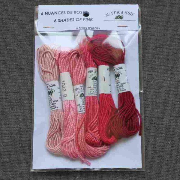 Pack 6 nuances de soie d'Alger 5m