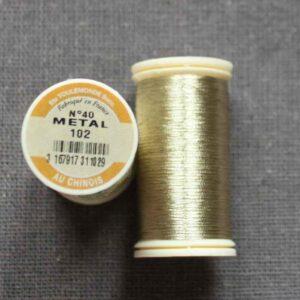 Fil métallic n° 40