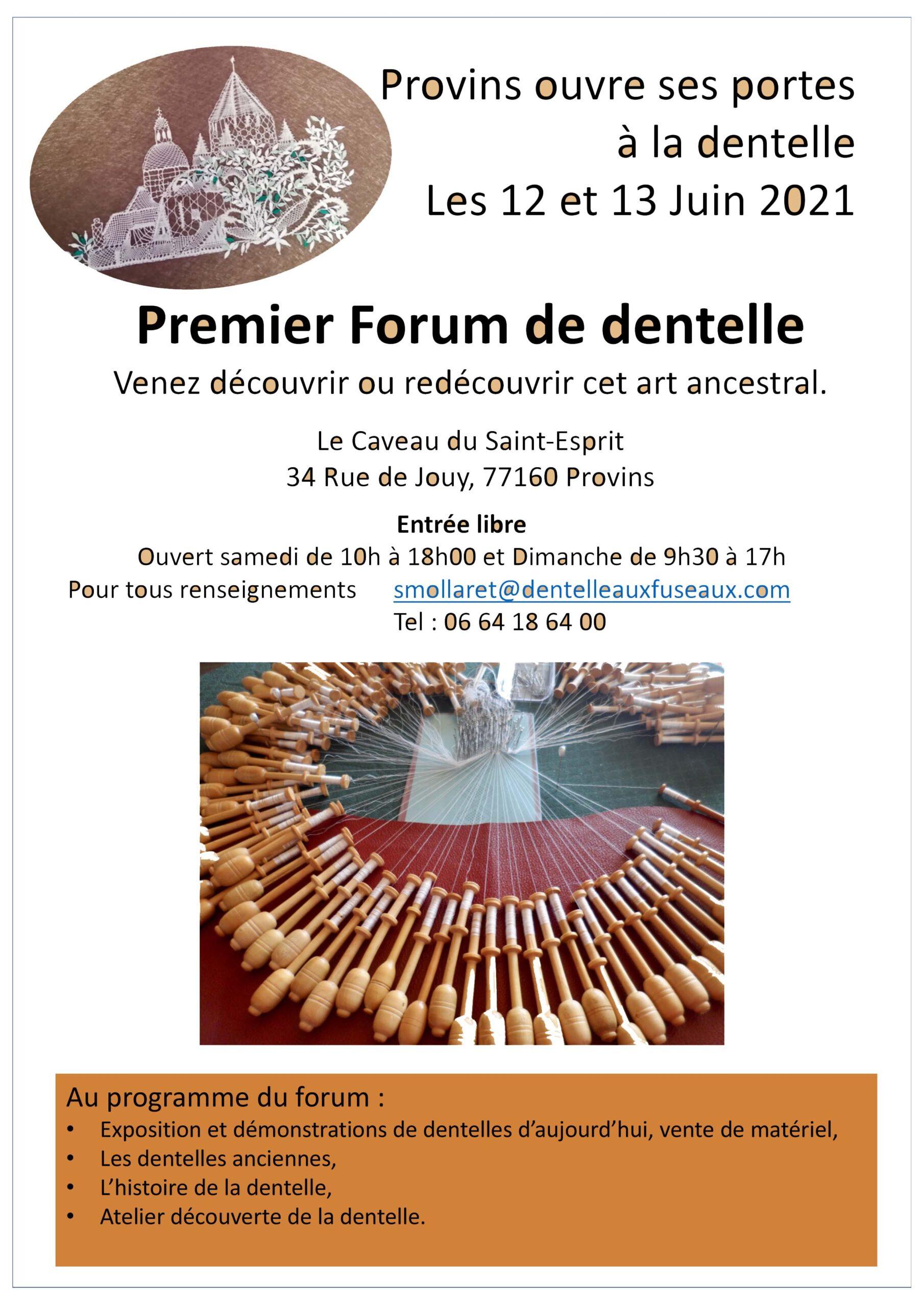 forum d dentelle Provins