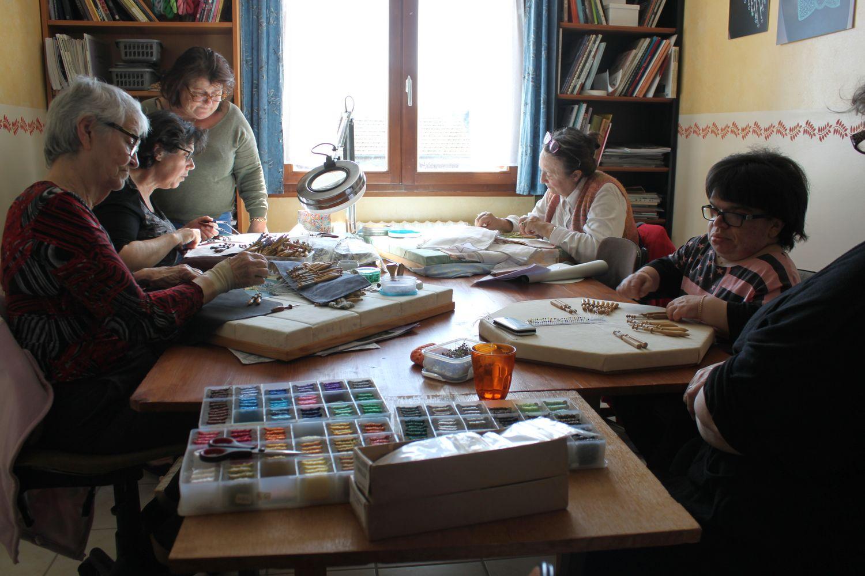 Cours atelier dentelle magali deboudard quincy