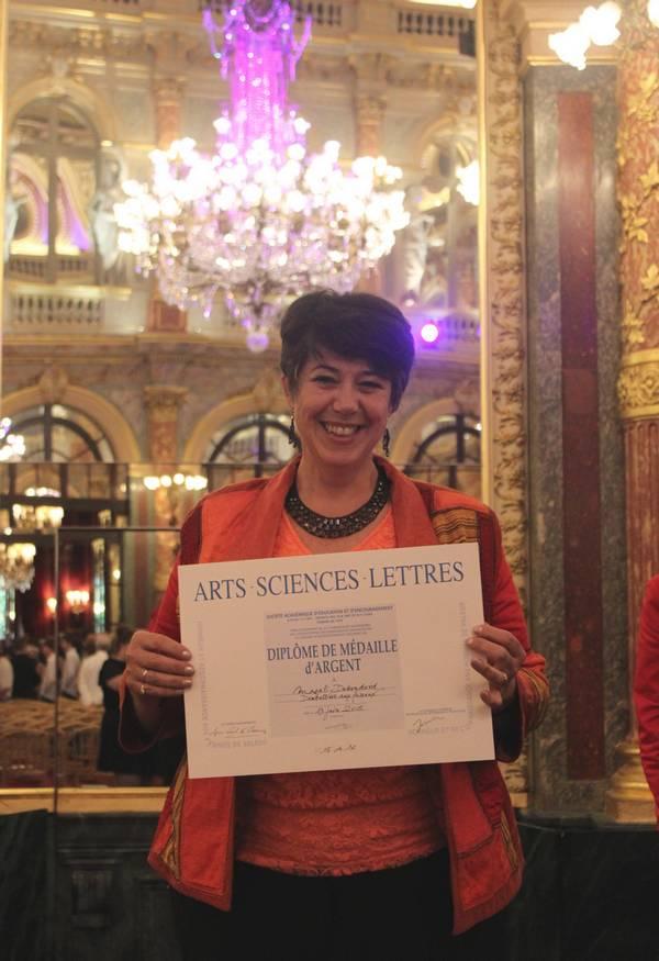 Medaille d'argent Arts Sciences et Lettres 2015
