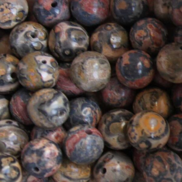 Perles gemmes rondes 8 mm
