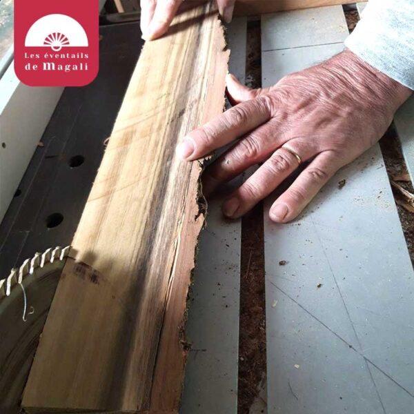La fabrication d'une monture d'évenail