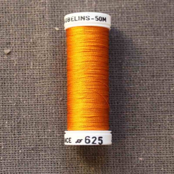 "Soie Gobelins ""jaune-orange"""