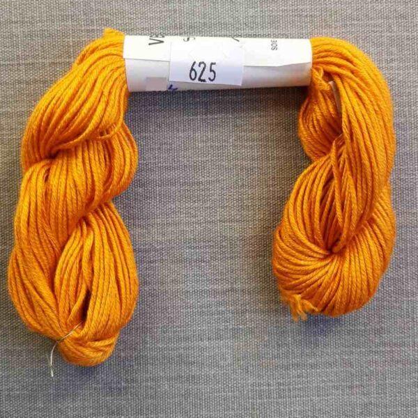 "Soie d'Alger ""jaune-orange"" en 45 m"