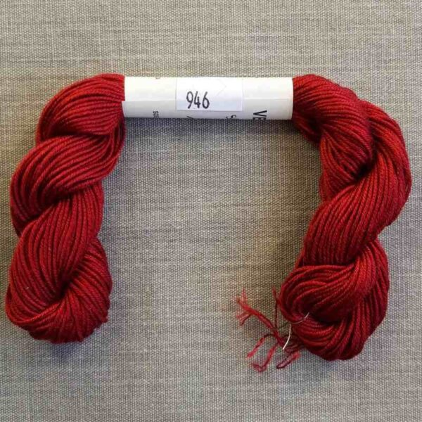 "Soie d'Alger ""rouge-prune"" en 45 m"