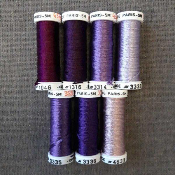 nuancier mauve violet