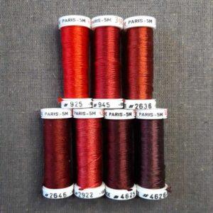 soie de Paris rouge nuancier