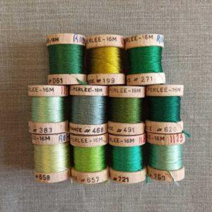 cordonnet en soie perlée au ver à soie