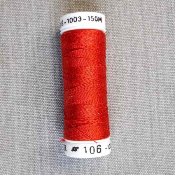 "Soie fine 1003™ ""rouge-prune"""