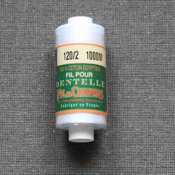 Coton d'Égypte blanc 24/3 au 170/2