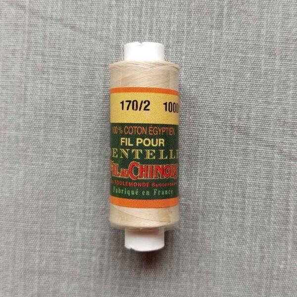 Coton d'Égypte bis-écru 24/3 au 170/2